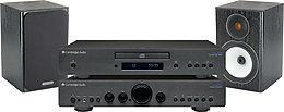 cambridge 350 monitor audio bx1 cha nes son vid. Black Bedroom Furniture Sets. Home Design Ideas