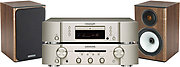 Marantz CD-5004 Silver/Gold + PM-5004 Silver/Gold + Bronze BX1 Noyer