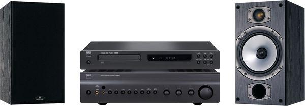 NAD C841 / Monitor Audio MR2  Vue principale