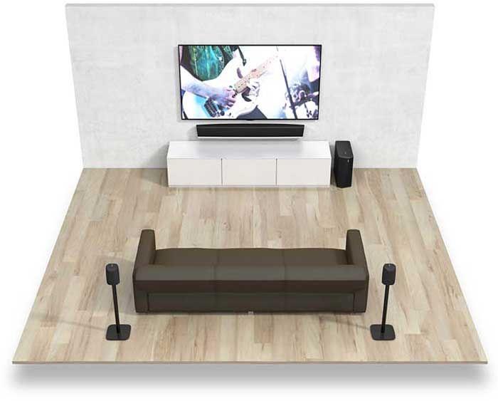 denon heos bar barres de son sur son vid. Black Bedroom Furniture Sets. Home Design Ideas