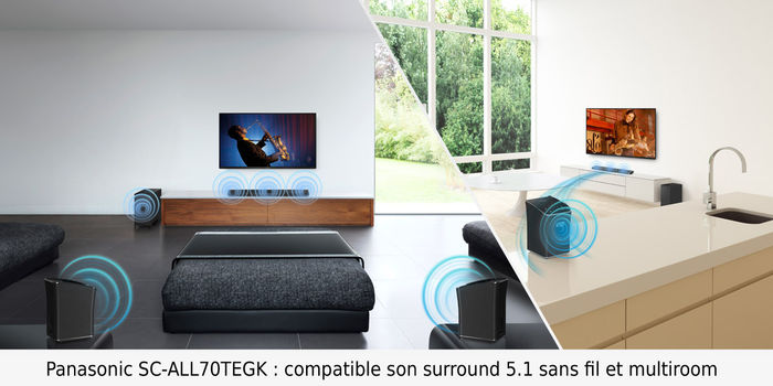 Panasonic SC-ALL70TEGK