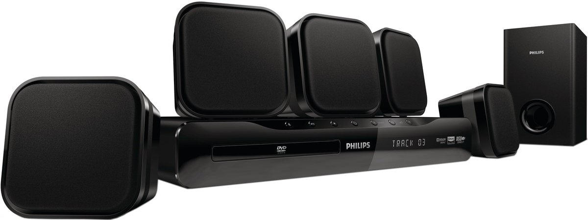 philips hts 2500 cha nes home cin ma son vid. Black Bedroom Furniture Sets. Home Design Ideas