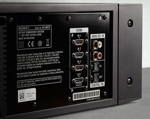 Sony HT-ST3 : HDMI 3D/4K/ARC, optique et RCA