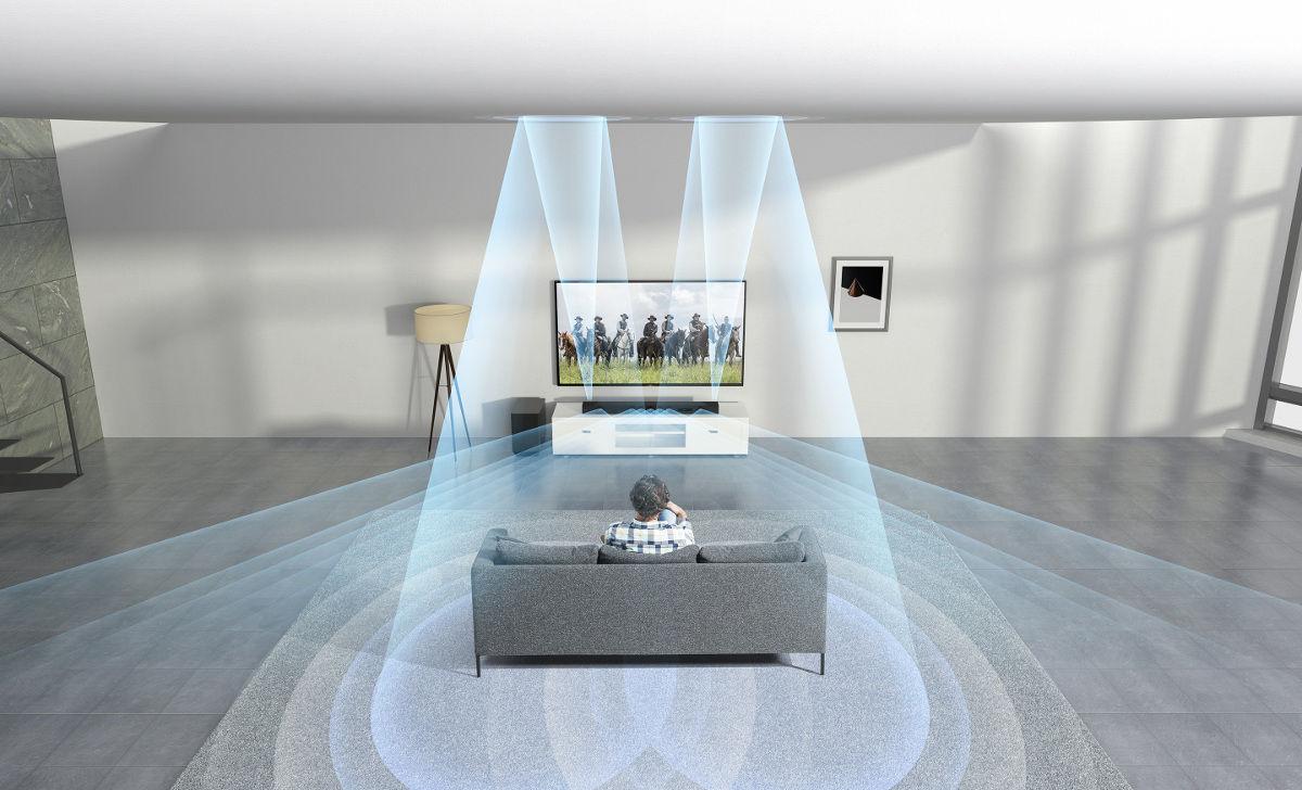 sony ht st5000 barres de son son vid. Black Bedroom Furniture Sets. Home Design Ideas