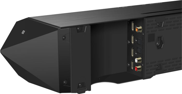 Sony HT-ST7 : HDMI 3D/4K, optique, coaxiale, RCA