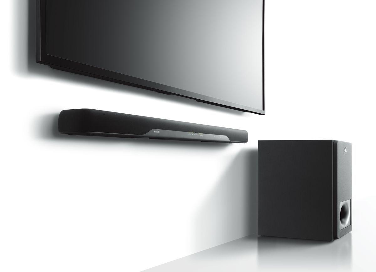 Yamaha Ats 2070 Barres De Son Sur Son Vid O Com # Meuble Tv Pour Barre De Son