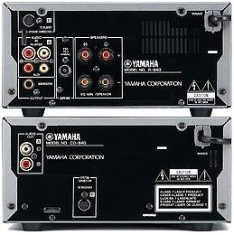Yamaha MCR-640  Vue arrière