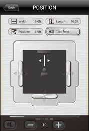 Barre de son Yamaha YAS-103 app