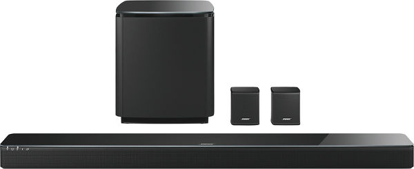 Bose SoundTouch 300 + Acoustimass 300 + Virtually Invisible 300 Vue principale