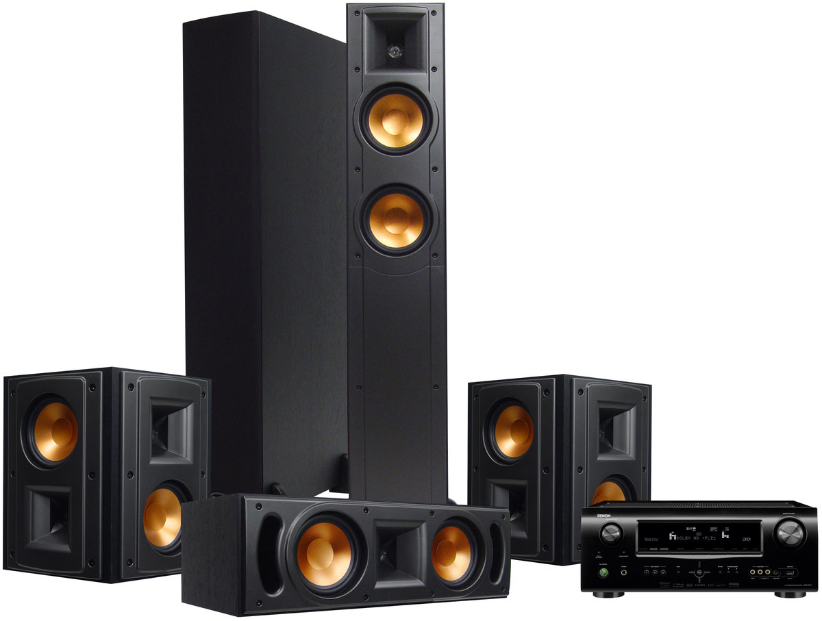 denon 2311 klipsch rf 52 hc cha nes son vid. Black Bedroom Furniture Sets. Home Design Ideas