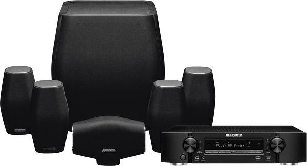 Marantz 1606 / Monitor Audio Mass Vue principale