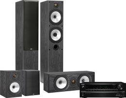 Onkyo 545 / Monitor Audio MR4 HC