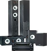 Onkyo TX-NR616 Noir + Bronze BX5 System Noir