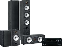 Onkyo 656 / Monitor Audio MR6 HC 5.0