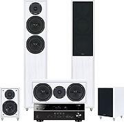 HTR-4065 + Monitor 91 HC Blanc