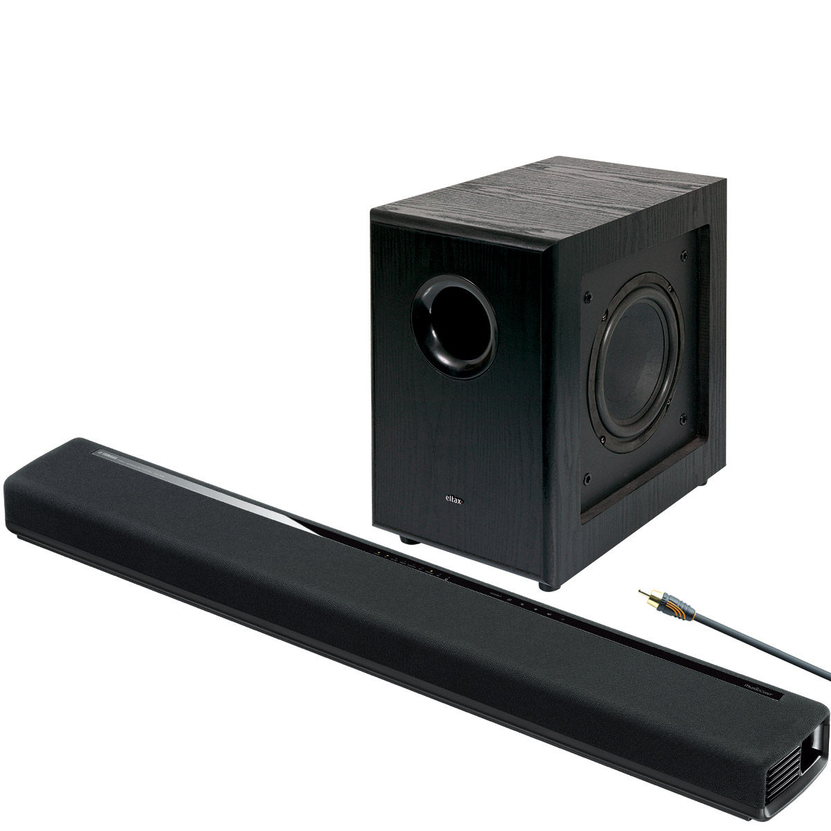 yamaha musiccast yas 306 eltax sw8 barres de son. Black Bedroom Furniture Sets. Home Design Ideas