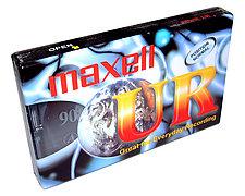Cassette Audio Maxell UR