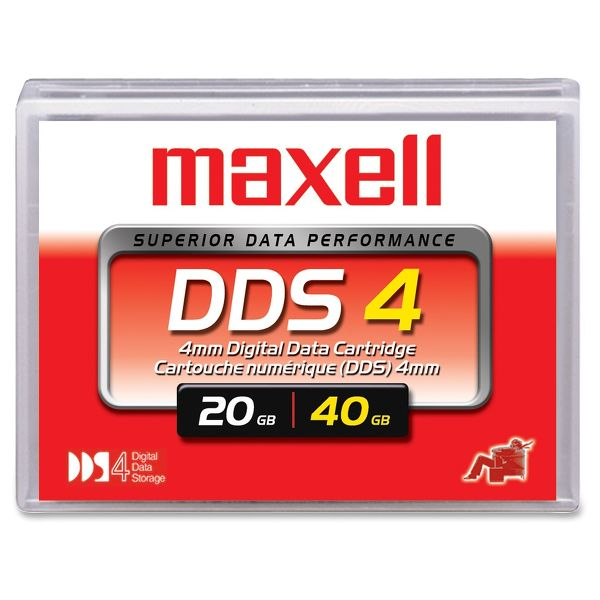 Maxell DAT DDS Vue principale