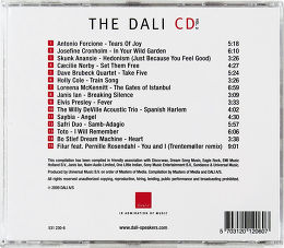 Dali CD Volume 2 Vue arrière