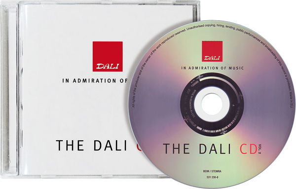 Dali CD Volume 2 Vue principale