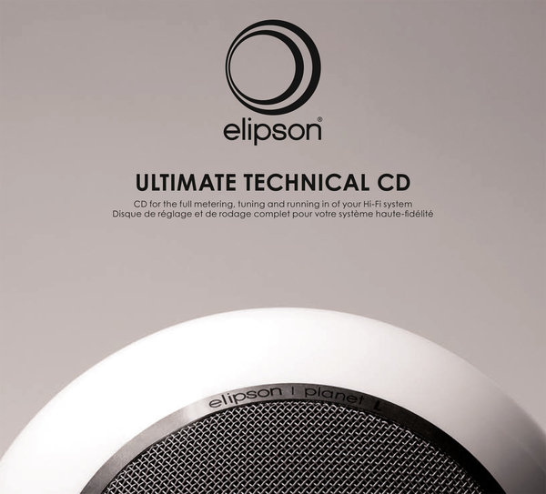 Elipson Ultimate Technical CD Vue principale