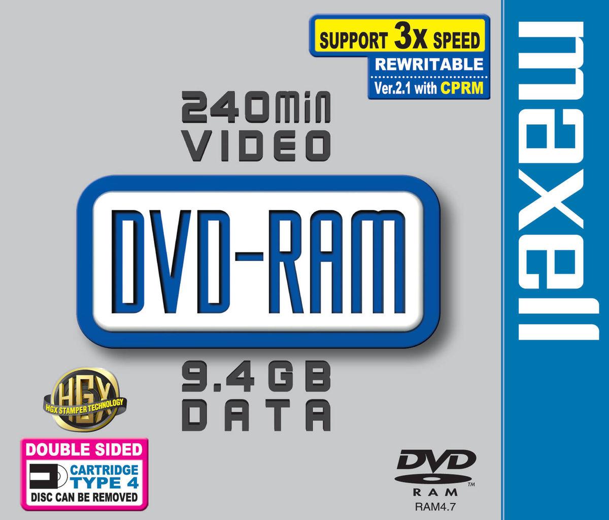 dvd ram 9 4 go