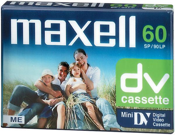 Mini DV Maxell DVM60 Vue principale