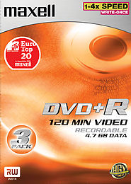 Maxell DVD+R 4,7 Go