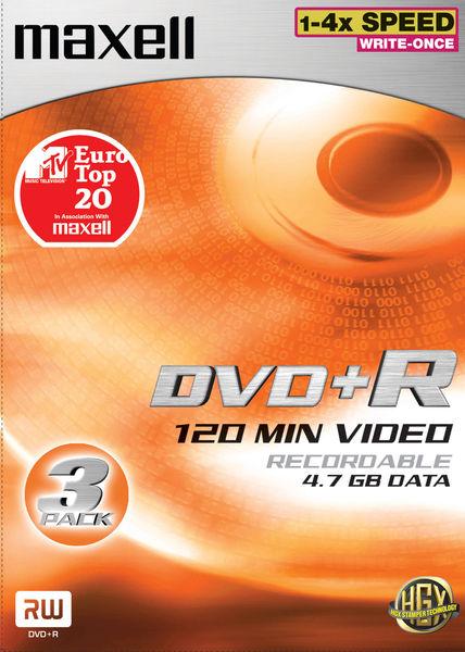 Maxell DVD+R 4,7 Go Vue principale