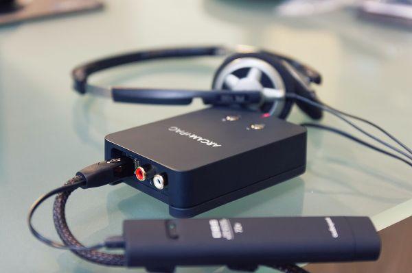 Test DAC USB Arcam rPAC