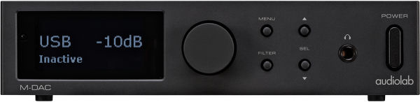 Audiolab M-DAC Vue principale