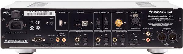 Cambridge Audio 851D face arrière