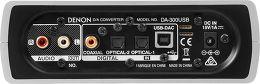Denon DA-300 USB Vue arrière