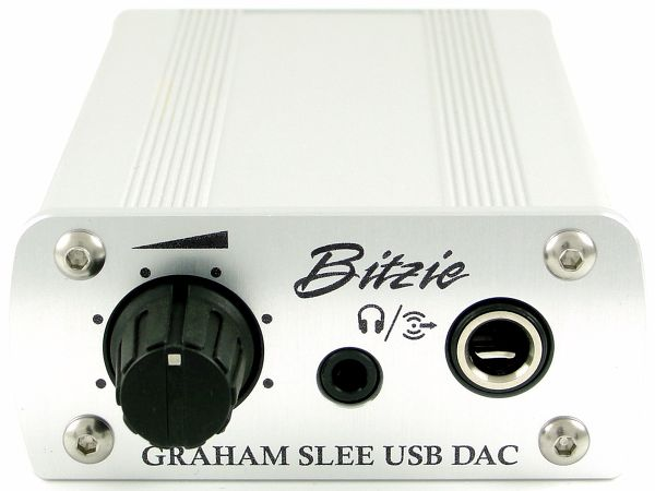 Graham Slee Bitzie USB DAC Vue principale