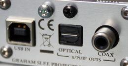 Graham Slee Bitzie USB DAC Vue de détail 3