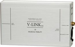 Musical Fidelity V-LINK 192 Vue 3/4 droite