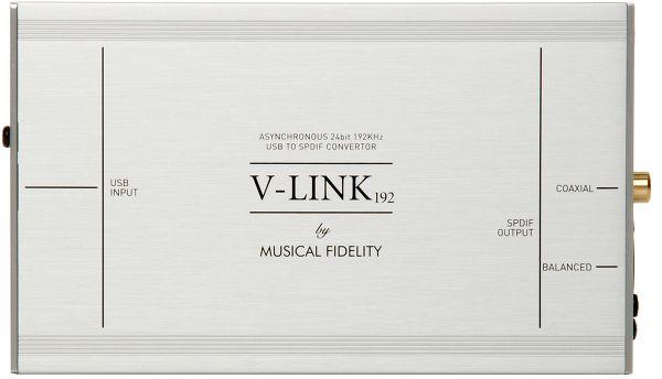 Musical Fidelity V-LINK 192 Vue principale