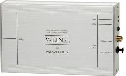 Musical Fidelity V-LINK II Vue 3/4 droite