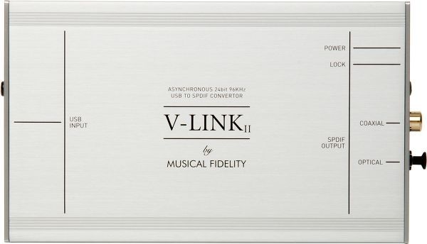 Musical Fidelity V-LINK II Vue principale