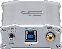 iFi Audio Nano iDSD Vue arrière