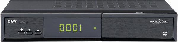 CGV E-Sat HD-W3 Vue principale