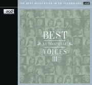 Disque compact XRCD Premium Records Best Audiophile Voices Vol. 3 XRCD