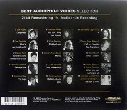 Premium Records Best Audiophile Voices Selection Vue arrière