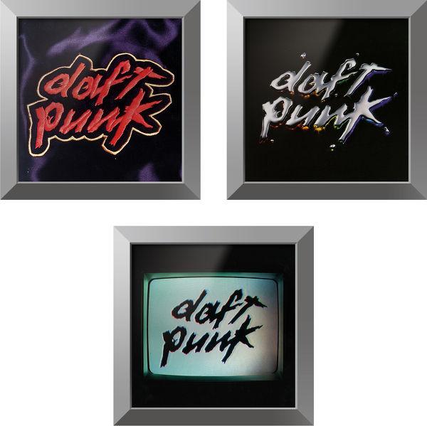 Trilogie Daft Punk + cadre Rockonwall Vue principale