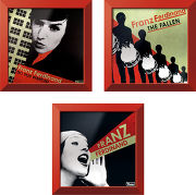 Rock on wall Trilogie Franz Ferdinand + Single Rouge