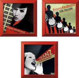 Trilogie Franz Ferdinand + cadre Rockonwall Vue principale