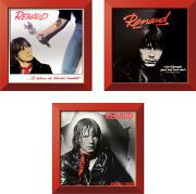 Rock on wall Trilogie Renaud  + Single Rouge