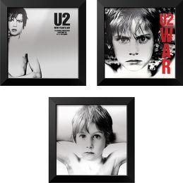 Trilogie U2 + cadre Rockonwall Vue principale