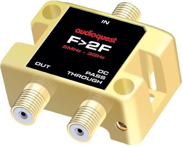 Audioquest Distributeur antenne 1 vers 2 Vue principale