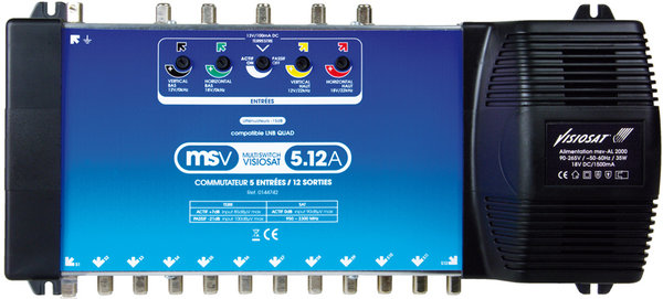 Visiosat MSV5 12A Vue principale
